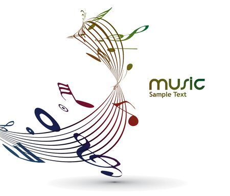 popular: abstract musical notes background for design use.