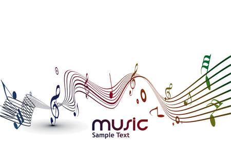 music banner: Zonsondergang in de zomer veld