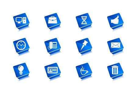 Vector Web Icons Set. Stock Vector - 9543015