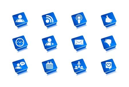 Vector web icons set design. Stock Vector - 9543012