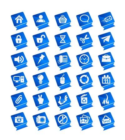 Vector web icons set design. Stock Vector - 9543019
