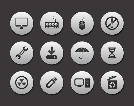 Internet & Website icons, office icons Set design. Stock Vector - 9559303