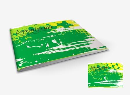 Presentation of brochure cover design template., vector illustartion. Stock Vector - 9610841