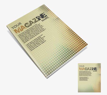 Magazine layout design template. Vector Illustration Stock Vector - 9610800
