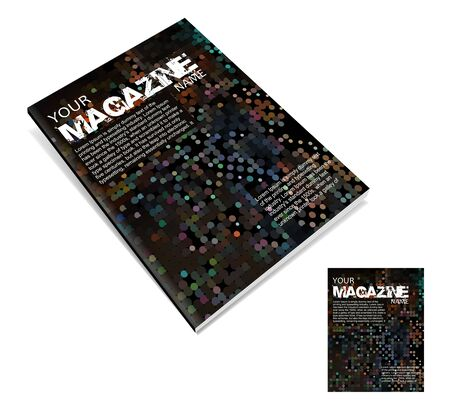 Magazine layout design template. Vector Illustration Stock Vector - 9610850