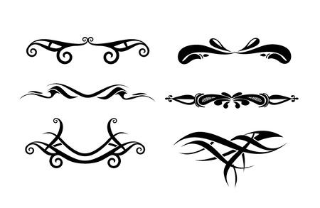Résumé tattoo design, conception de vecteurs. Vecteurs