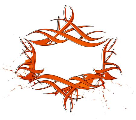 abstract tattoo design, vector design. Stock Vector - 9610753