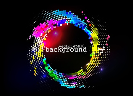 abstract colorful wave background, Eps10 Vector illustration. Stock Vector - 10028409