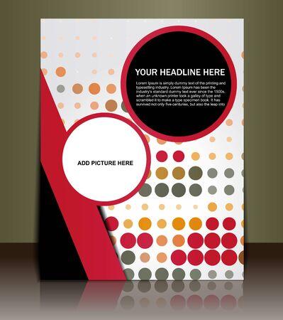 Presentation of Poster/flyer design content background. editable vector illustration Stock Vector - 10028500