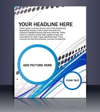 Presentation of Poster/flyer design content background. editable vector illustration Stock Vector - 10054954