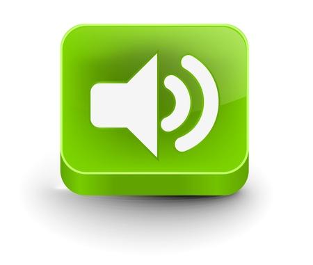 speaker icon: vector speaker icon web design element.  Illustration