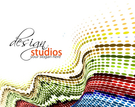 Abstract colorful banner background for your business artwork  Vector