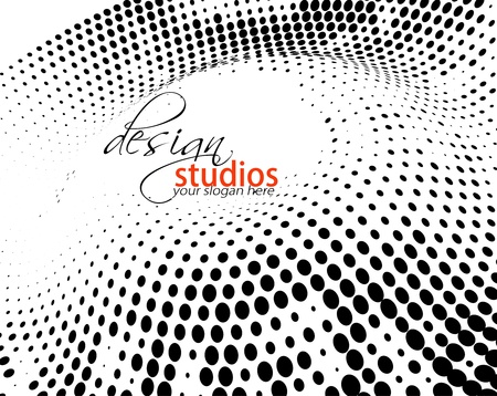 ink drops: Abstract colorful banner background for your business artwork