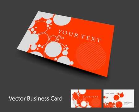 vector business card set , elements for design. Stock Vector - 10055142