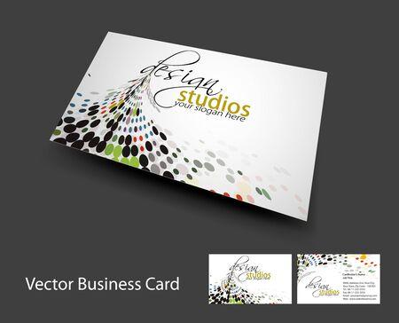 vector business card set , elements for design.  Vector