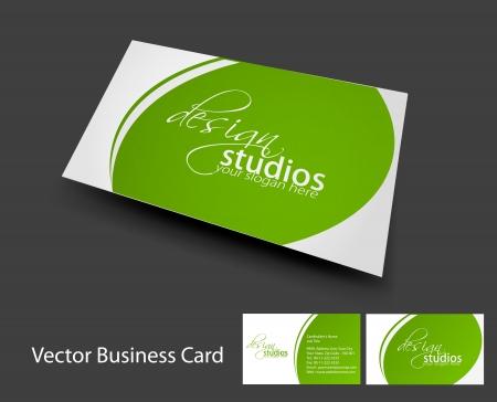 visitenkarte: Vektor Visitenkarte Set, Elemente f�r das Design. Illustration