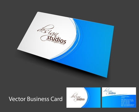 business: vector business card set , elements for design.