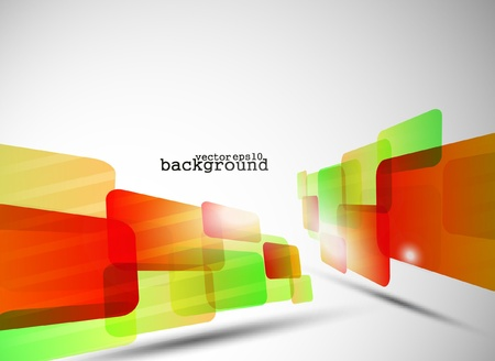 modish: Abstract technology background in color. Vector illustration.  Illustration