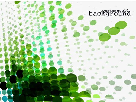 Dark green retro turquoise halftone background, EPS format.  Stock Vector - 10497748