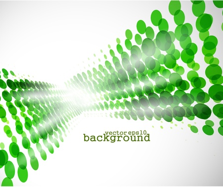 light green retro turquoise halftone background, EPS format.  Stock Vector - 10497675