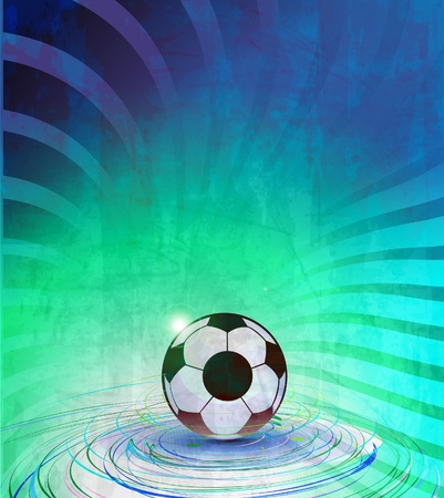 football  poster design, eps10 vector background