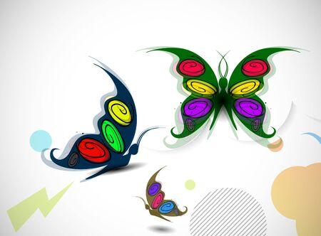 10eps: abstract illustration spring postar design, 10eps vector Illustration