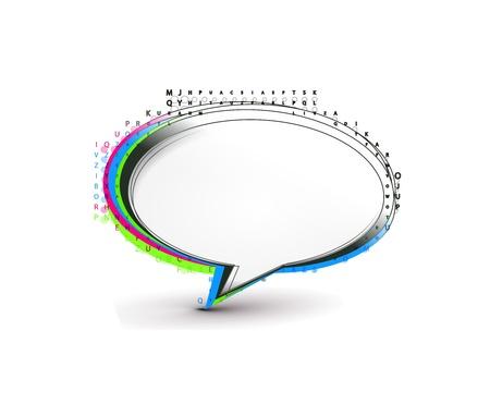 brand new: vector speech bubbles design Illustration