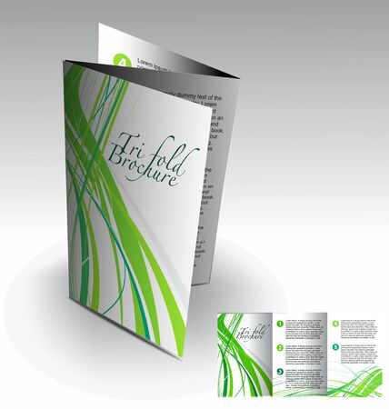 intro: Tri-fold brochure design element, best used for your project.