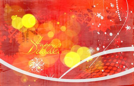 abstract beautiful diwali background design. Vector