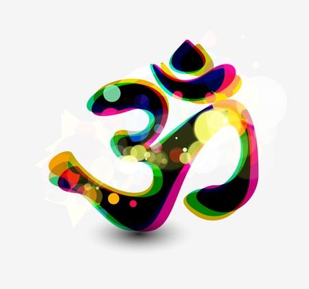 lord ganesha: Se�or Ganesha, diwali s�mbolos de dise�o Vectores