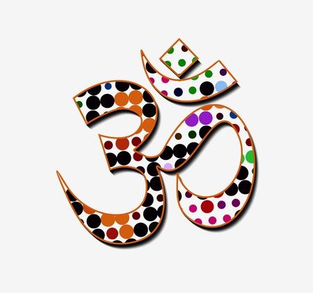 Lord ganesha, diwali symbols design Stock Vector - 11193869