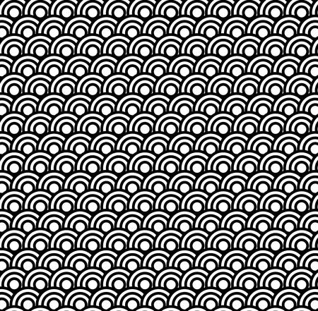 uncolored: Retro en blanco y negro sin fisuras c�rculo de fondo de