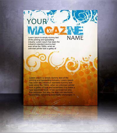 poster background: Vector flyer or cover design element background.