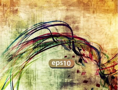splash color: abstract vettore sfondo onda