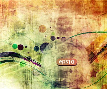 Abstract grunge texture background. Vector illustration. Vector