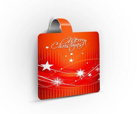 striker: Modern design christmas striker, illustration