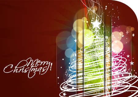abstract background for new year and Christmas colorful design, text project used.  Vector