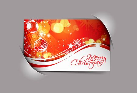 abstract background for new year and Christmas colorful design text project used Stock Vector - 11579732