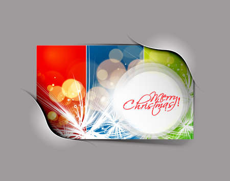 abstract background for new year and Christmas colorful design text project used Stock Vector - 11579758