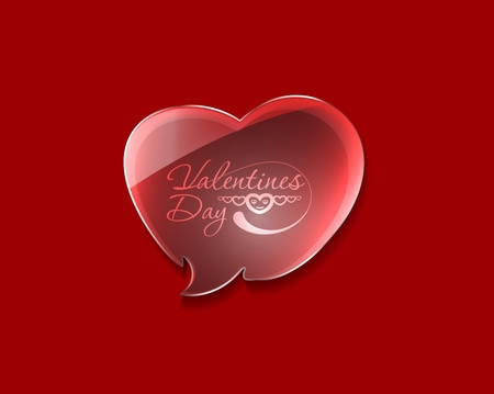 valentine's day background, vector illustration.  Stock Vector - 12125694