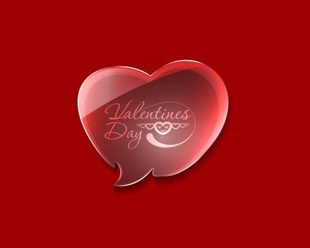 valentine's day background, vector illustration. Stock Vector - 12125694