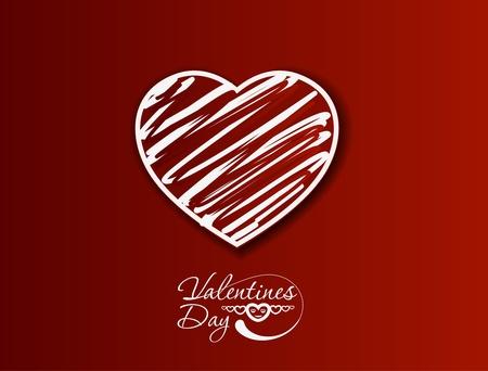 fondness: valentines day background, vector illustration.