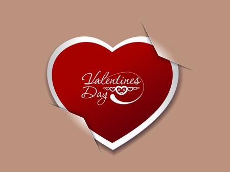 curare teneramente: San Valentino sfondo, illustrazione vettoriale. Vettoriali