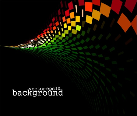 abstract mosaic background, eps10 vector illustration.  Vector