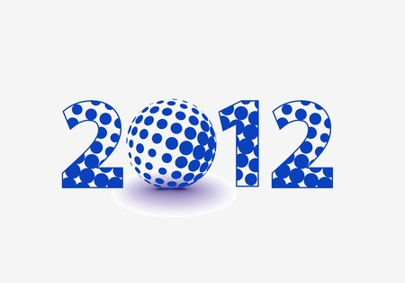 new year 2012 collection Stock Vector - 12283623