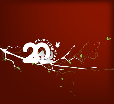 new year 2012 background. Vector illustration Stock Vector - 12283630
