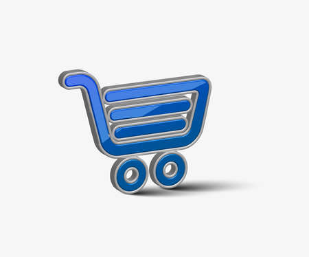 vector web shopping icon design element.  Vector