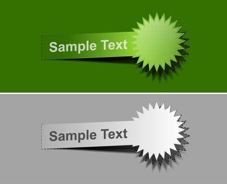 lable: web lable peel off web design element.