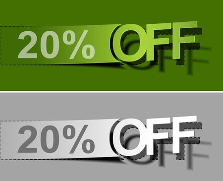 giveaway: Juego de porcentajes del vector venta web despegue elemento de dise�o.