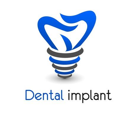 dental icon in vector format very easy to edit design. Vector